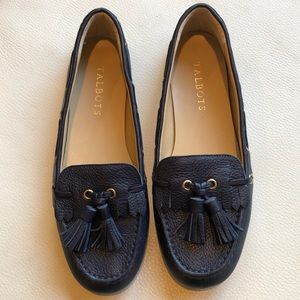 Talbots navy loafers